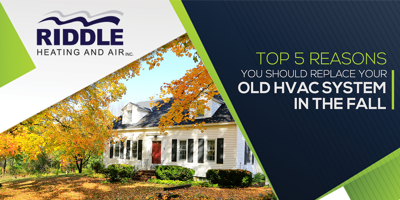 Top 5 Reasons Why You Should Replace Your Old HVAC System in the Fall