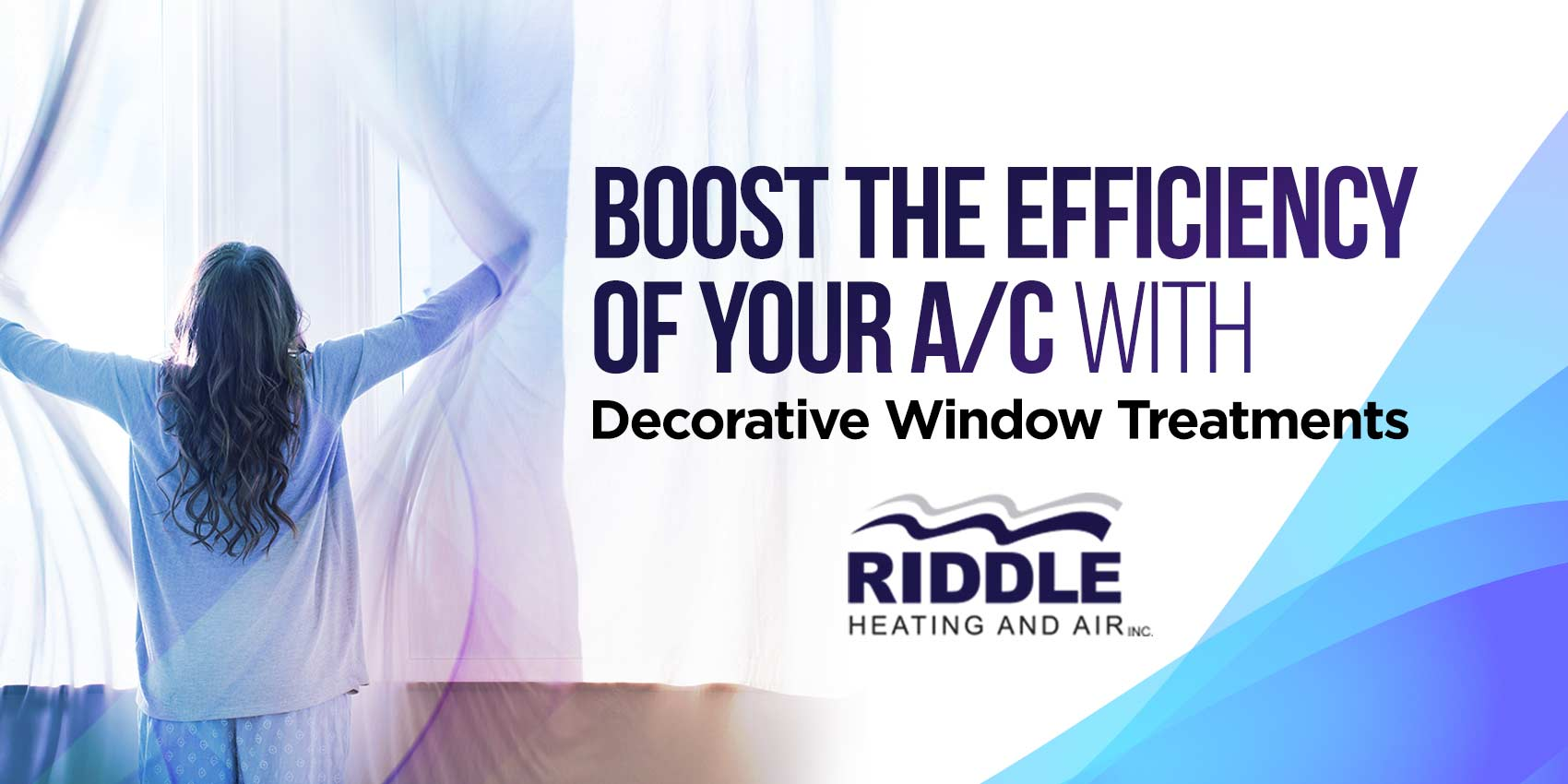 Boost the Efficiency of Your A/C with Decorative Window Treatments