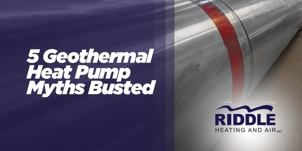 5 Geothermal Heat Pump Myths Busted